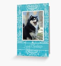 Finnish lapphund greeting cards redbubble christmas card no 15 greeting card m4hsunfo