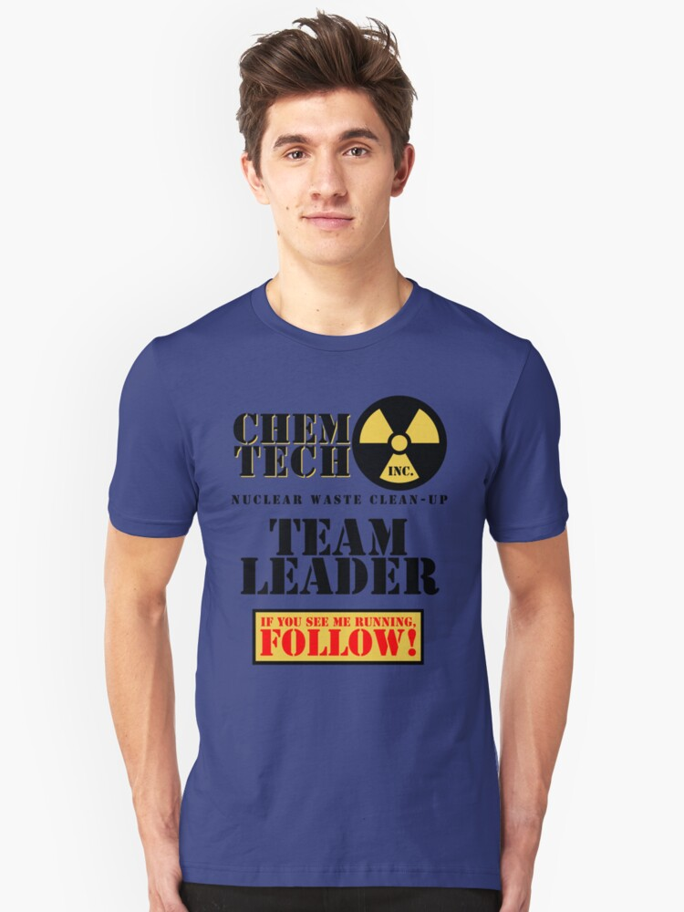Nuclear Waste Clean-Up Crew Unisex T-Shirt Front