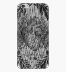 the tell tale heart : black ink edition iPhone Case