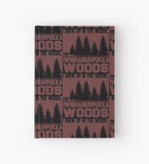 Funny Sayings- I Wish a Mother Fucker Woods Hardcover Journal