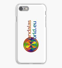 Mandala's World Logo iPhone Case/Skin