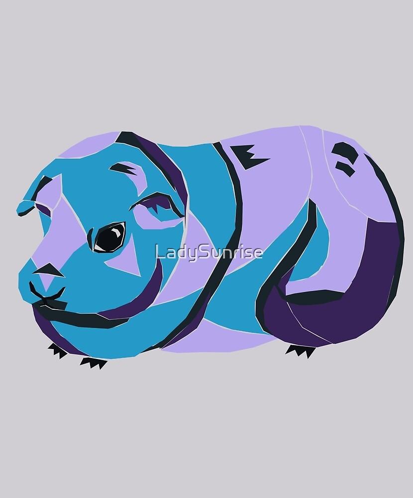 Purple Mr Guinea P by LadySunrise