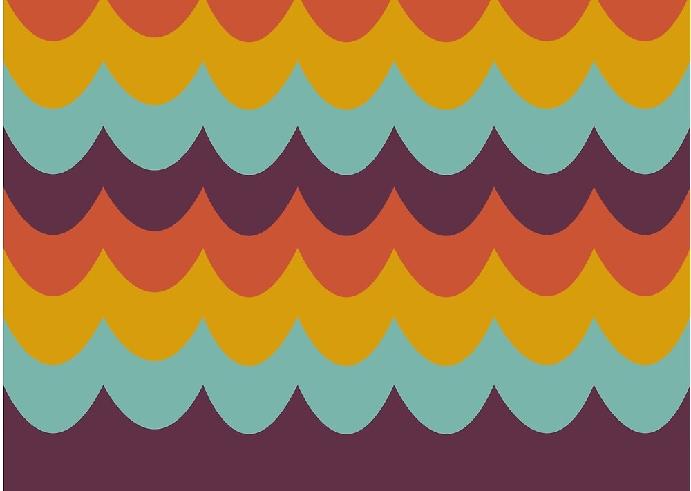 Retro Waves 01 by thedesignloft