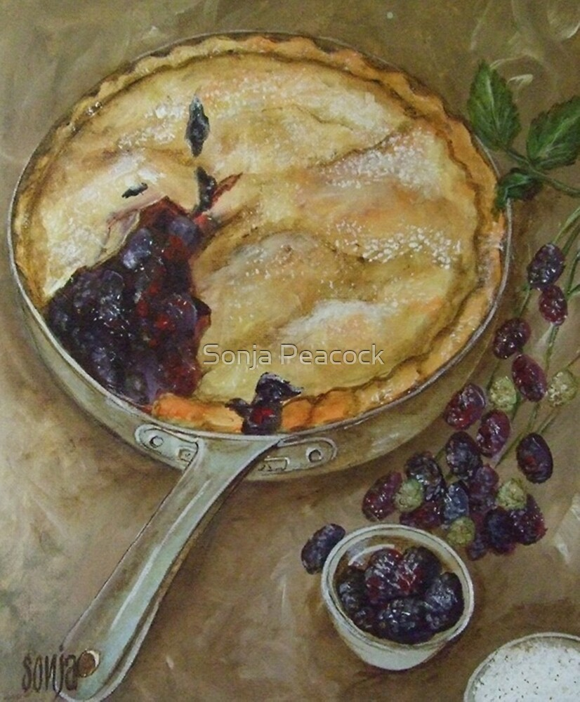 Mulberry Pie  by Sonja Peacock