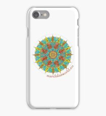 Buddhist Mandala n4 iPhone Case/Skin