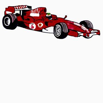 F1 Ferrari by Sloosh