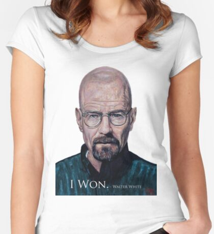 I Won - Walter White Women's Fitted Scoop T-Shirt
