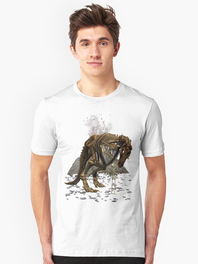 Dino Snack Unisex T-Shirt Front