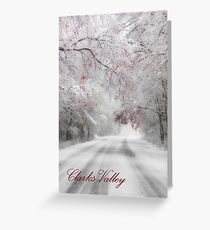 Clarks Valley Calendar Cover Greeting Card