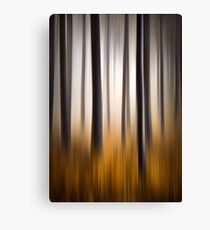 Forest Essence - Autumn Landscape Vertical Panning Canvas Print
