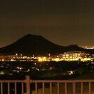 Scottsdale Arizona at night time by elisab