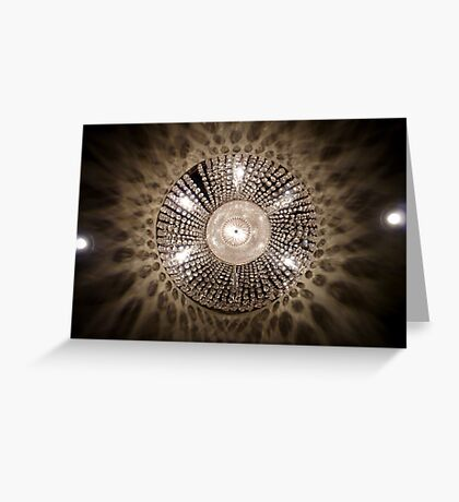 Lights from the Fairmont. Greeting Card