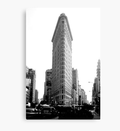 Flatiron in New York Canvas Print