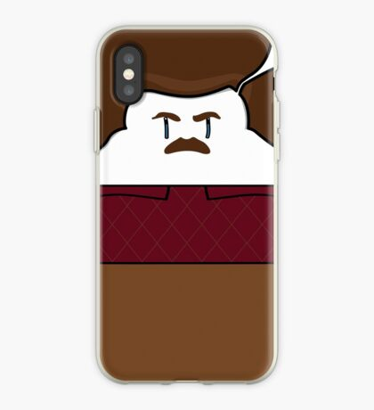Ron Swanson iPhone Case