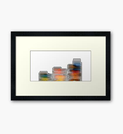 Cave Wall Framed Print
