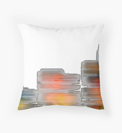 Cave Wall Throw Pillow