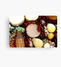 Puglia products Canvas Print