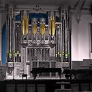 Assembly Hall on Temple Square in Salt Lake City, Utah by David Owens