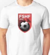 Crest of the Albanian National Football Team  T-Shirt