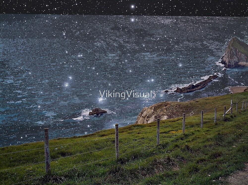 Bright Starry Night Dorset by VikingVisual