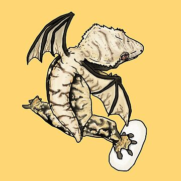 Crested Gecko Dragon by roanoke