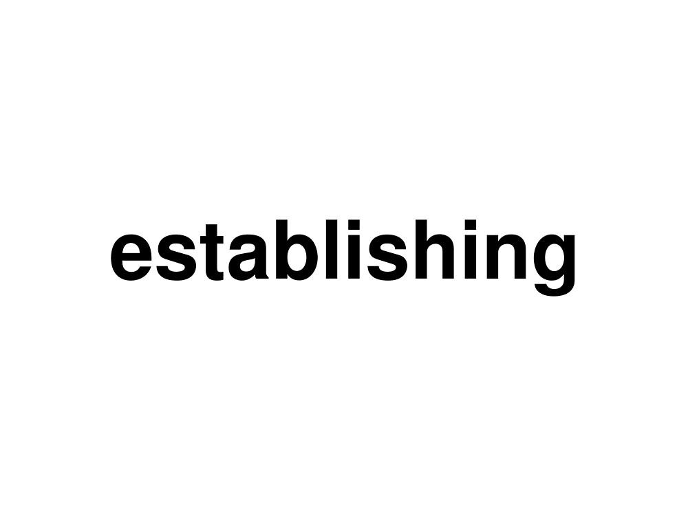 establishing by ninov94