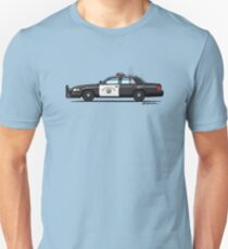 California Highway Patrol Ford Crown Victoria Police Interceptor T-Shirt