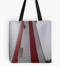 "Devonport's ""lollipop"" lighthouse Tote Bag"