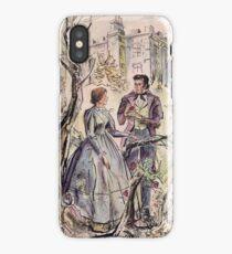 Jane Eyre illustration iPhone Case/Skin