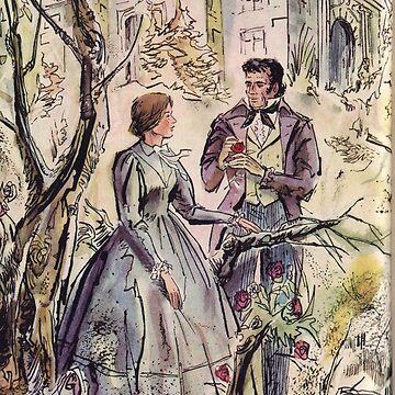 Jane Eyre illustration by bookishwhimsy