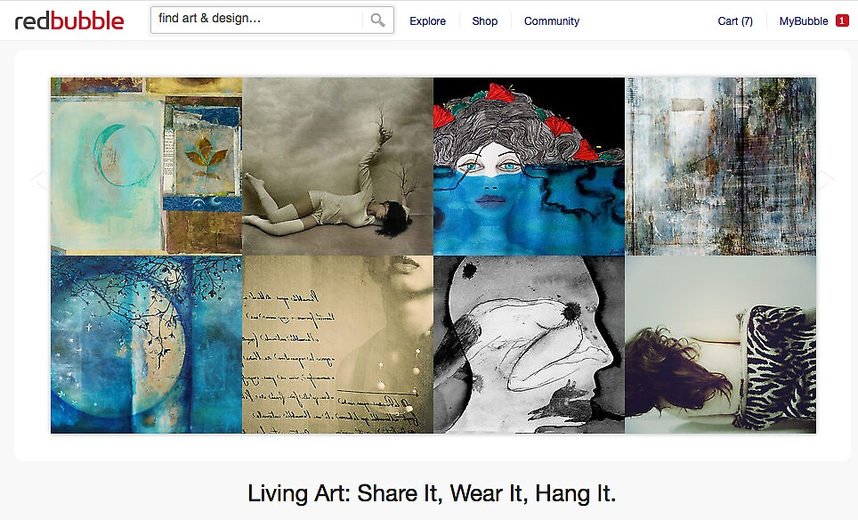 Finding Comfort - 20 November 2011 by The RedBubble Homepage