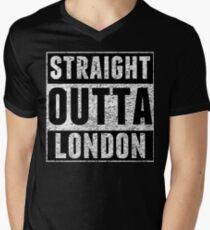Straight Outta London Men's V-Neck T-Shirt