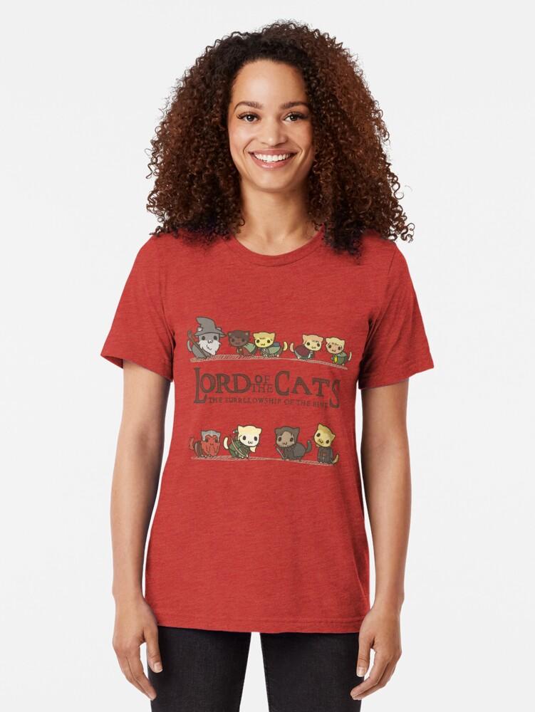 Alternative Ansicht von Die Furrlowship des Rings Vintage T-Shirt