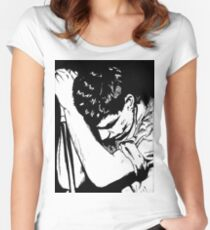 Ian Curtis Women's Fitted Scoop T-Shirt