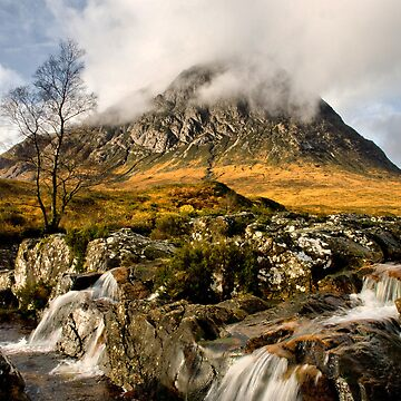 Cloud on the Buachaille by jacqi