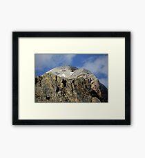 Lámina enmarcada At the top of Tofana di Rozes