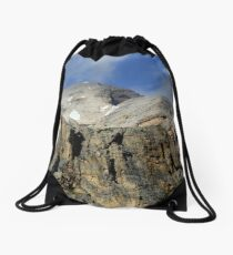 Mochila de cuerdas At the top of Tofana di Rozes
