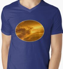 Phoenix Cloud Mens V-Neck T-Shirt