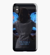 I'm being a superhero iPhone Case