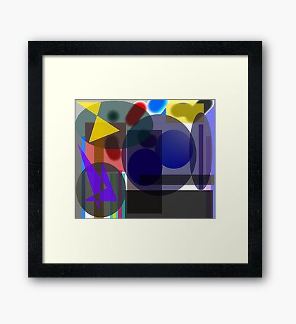 Sundry Matters Framed Print