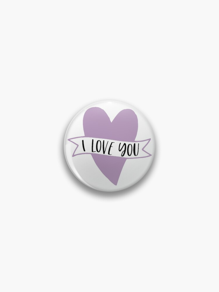 Mommy/'s Girl Love Red Heart Pinback Button Pin Badge