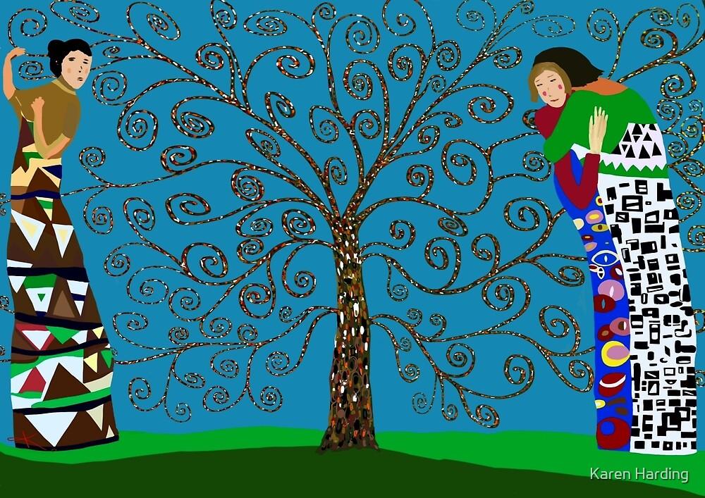 Love Of Klimt by Karen Harding