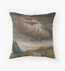 Desert Shadows Throw Pillow
