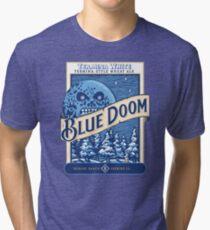 Blue Doom Tri-blend T-Shirt