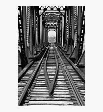 Franklin Ohio railway bridge 1  Photographic Print