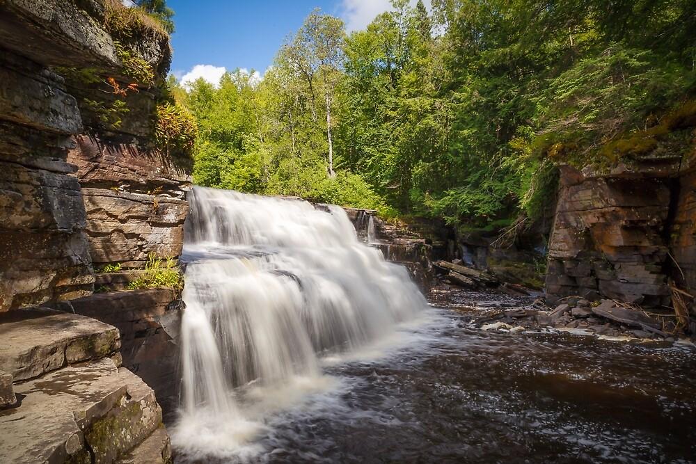 Canyon Falls ( Michigan, USA) www. pattipottsphotography.com by RyanBarszcz