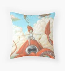 Someday I will Never Grow Up Throw Pillow