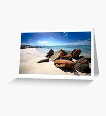 Black Springs Beach Greeting Card