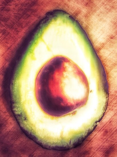 The One With The Avocado by Rachel Rivera