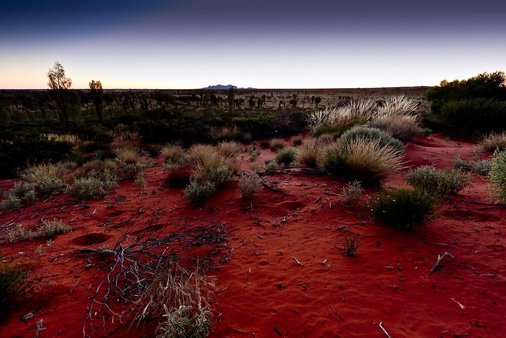 The Olgas, Kata Tjuta Sunset, Australia by Russell Charters